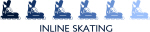 Inline Skating  (blue variation)
