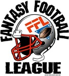 Fantasy Football League Helmet Logo