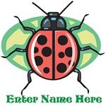 Personalized Ladybug