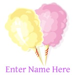 Personalized Cotton Candy