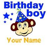Birthday boy monkey custom
