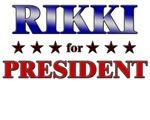 RIKKI for president
