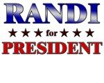 RANDI for president