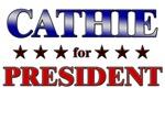 CATHIE for president