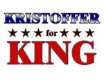 KRISTOFFER for king