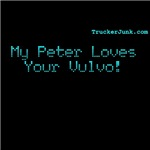 My Peter Loves your Vulvo!