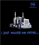 I just waxed my Peter... GUAD BLUE