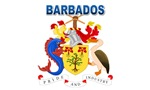 Coat of Arms of Barbados (labeled)