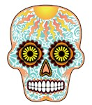 Candy Skulls-Day of the Dead