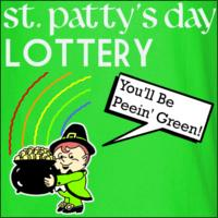 St. Patty's Day Lottery