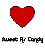 SWEET AS CANDY (BIG RED HEART)