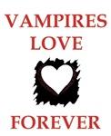 VAMPIRES LOVE FOREVER