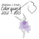 Colorguard 2012-2013 Flag