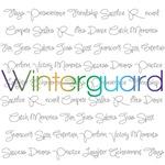 Winterguard Script