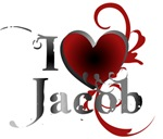 I heart (love) Jacob Black Tees and Gifts