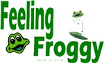 Feeling Froggy Design