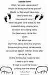 Upside Down Poem Design