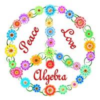 <b>PEACE LOVE ALGEBRA</b>