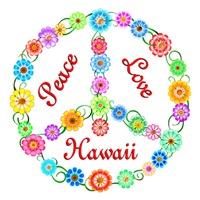 <b>PEACE LOVE HAWAII</b>