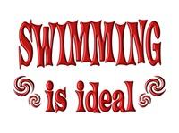 <b>SWIMMING IS IDEAL</b>