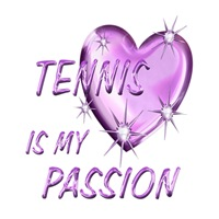 <b>TENNIS IS MY PASSION</b>