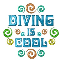 <b>DIVING IS COOL</b>