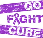 Pancreatic Cancer Go Fight Cure Shirts
