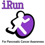 I Run for Pancreatic Cancer Awareness T-Shirts