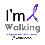 I Walk For Pancreatic Cancer Awareness T-Shirts