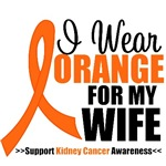 I Wear Orange For My Wife T-Shirts & Gifts
