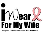 Endometrial Cancer (Wife) T-Shirts