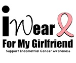 Endometrial Cancer (Girlfriend) T-Shirts