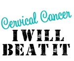 Cervical Cancer I Will Beat It T-Shirts & Gifts