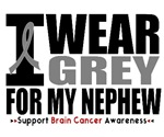 I Wear Grey (Nephew) Brain Cancer Shirts & Gifts