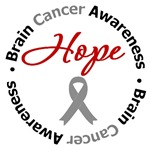 Brain Cancer Hope Shirts & Gifts