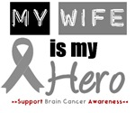Brain Cancer Hero (Wife) T-Shirts & Gifts
