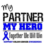 Colon Cancer Hero Partner Shirts & Gifts