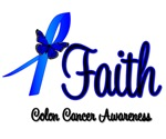 Faith Colon Cancer Shirts & Giftse
