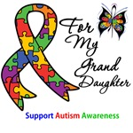 Autism Support Granddaughter Shirts & Gifts