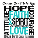Ovarian Cancer Can't Take My Hope Shirts