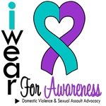 I Wear Ribbon Domestic Violence Sexual Assault