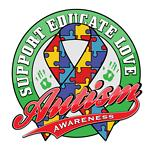 Colorful Autism Support Educate Love Gifts