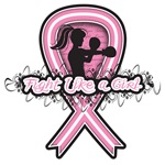 Breast Cancer Fighter Girl Shirts and Gifts