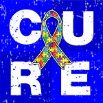 Cure Autism Awareness Cube Shirts