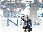 Sne-e-eky like a Ninja