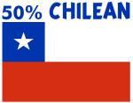 50 PERCENT CHILEAN