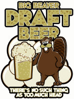 BIG BEAVER DRAUGHT BEER