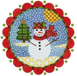 EVERYTHING Patchwork Snowman