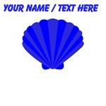 Custom Blue Oyster Shell