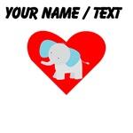 Cartoon Elephant Heart